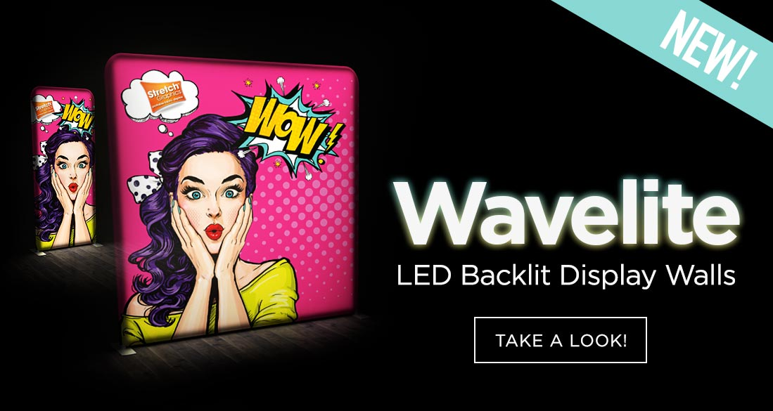 Wavelite LED Backlit Display Walls