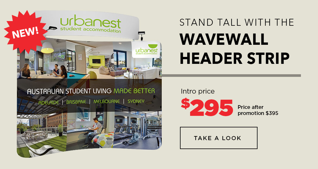 WaveWall Header Strip Special Offer