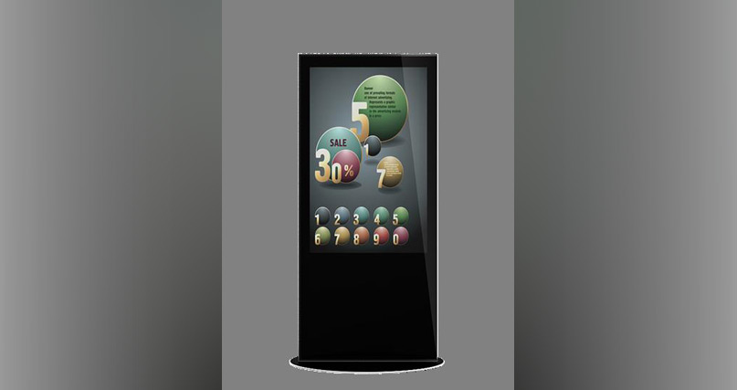 46 inch kiosk
