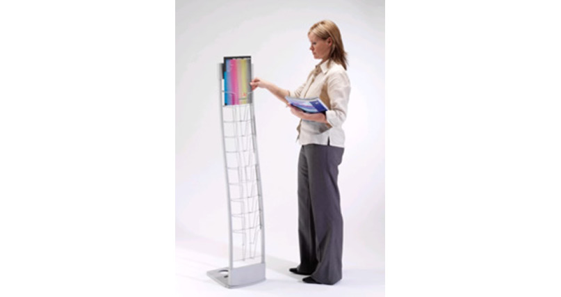 D10 Innovative Brochure Stand