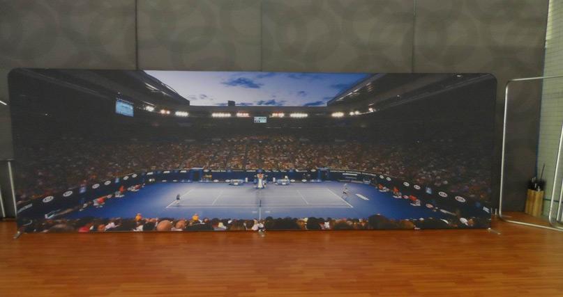 tennis australia campaign wall 6m