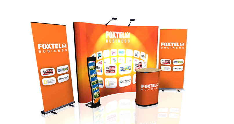 pop up package foxtel