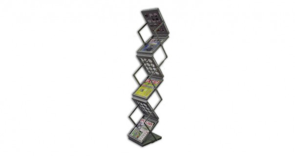 D6 Zed Up Brochure Stand