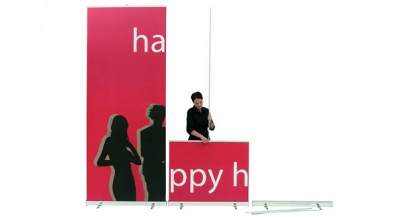 Media Screen XL Banner Stand