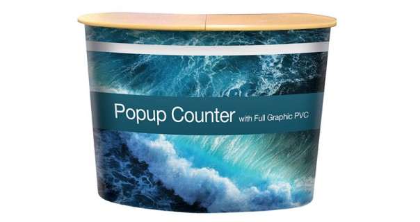 Pop-Up Portable Counter