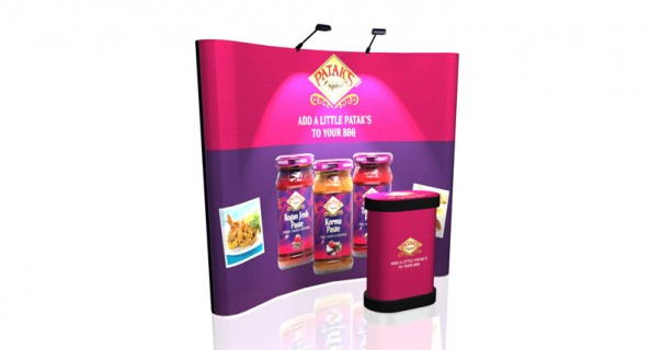 Nimlok Compact Pop-Up Display