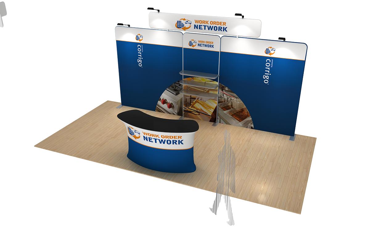 Corner Exhibition Stands Kit : Corner modular display solution kit modular exhibition stands