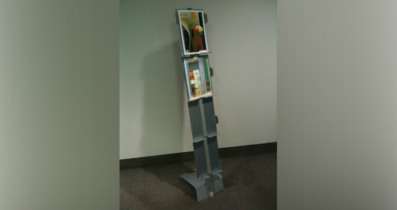 D8 vario Aluminium Brochure Stand