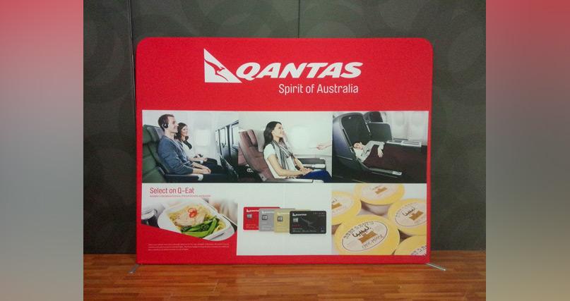 qantas campaign wall