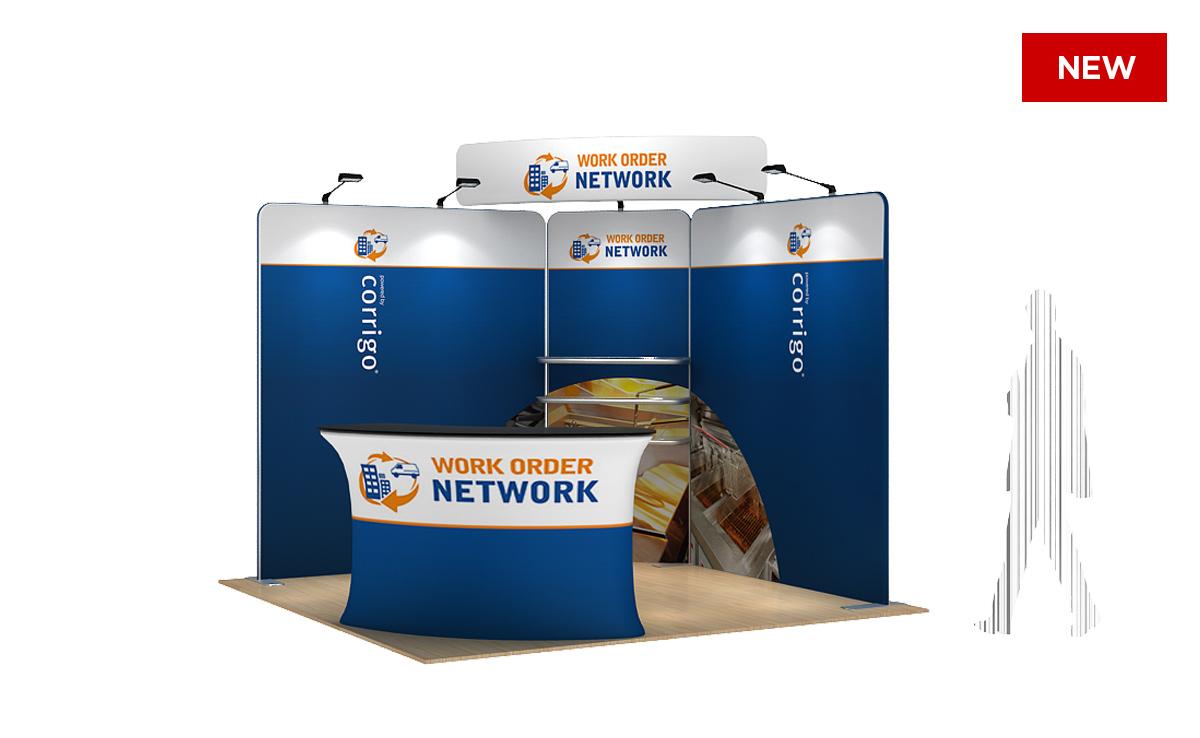 Modular Exhibition Stand Years : Corner modular display solution kit modular exhibition stands
