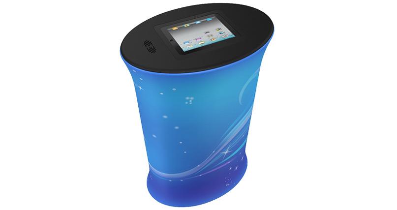 ipad counter blue